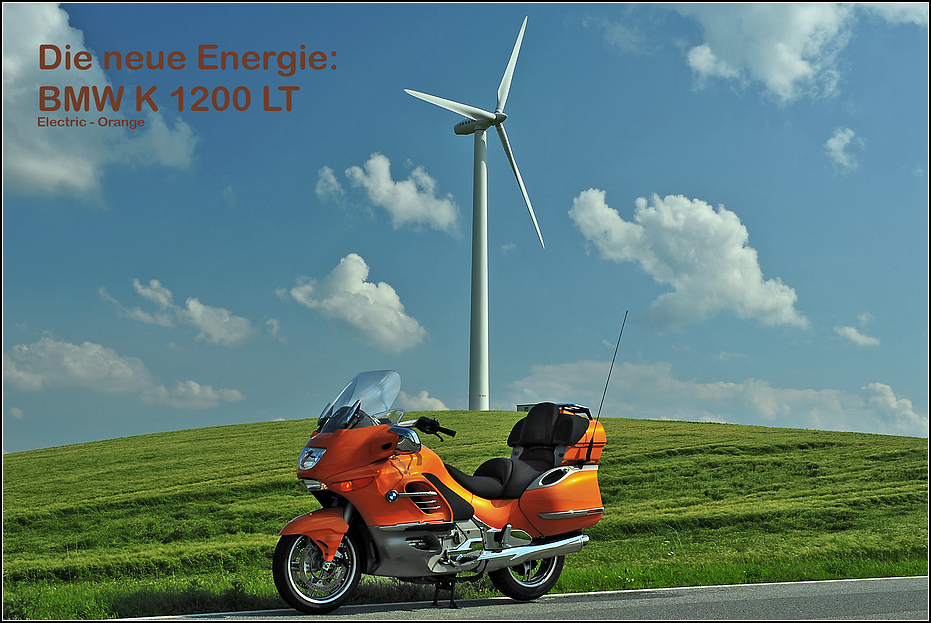 BMW K1200 LT (electric Orange)