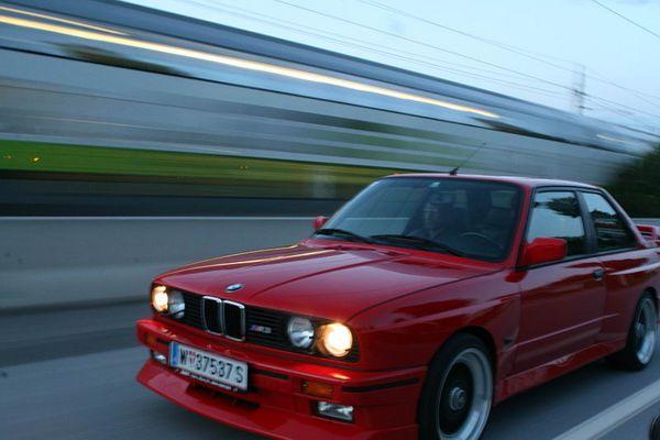 BMW M3 e30 - the original in motion ...