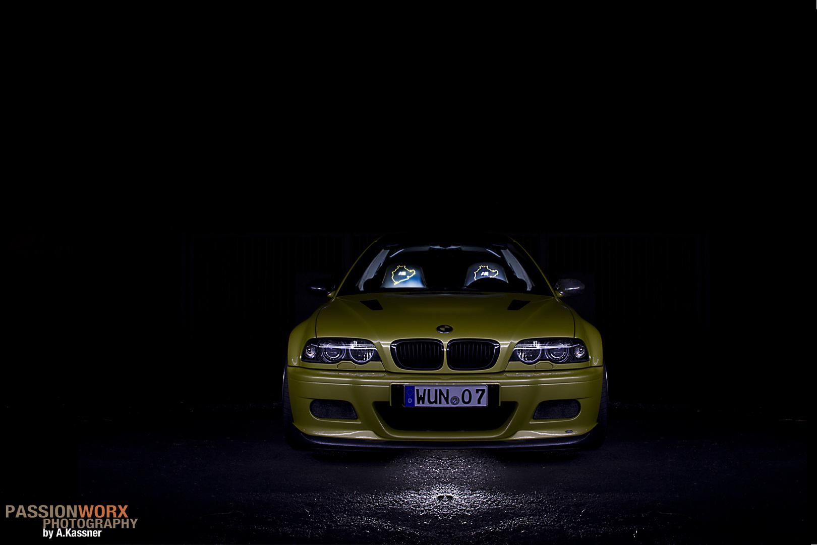 BMW M3 E46 Frontansicht