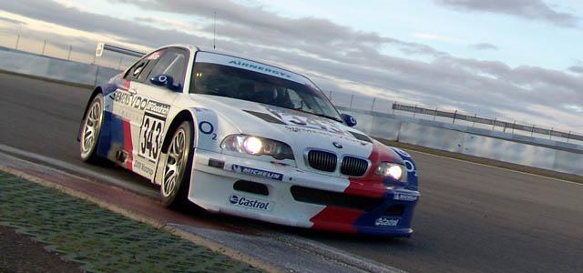 BMW M3 GTR, Einstellfahrten 18.03.05