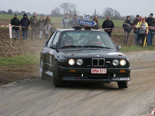 BMW M3 Rallye Hannut 2003