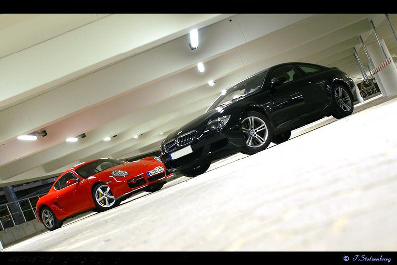 BMW M6 und Cayman S