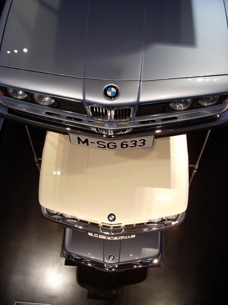 BMW Motorhauben