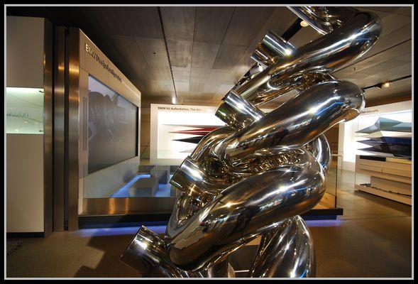 BMW Skulptur