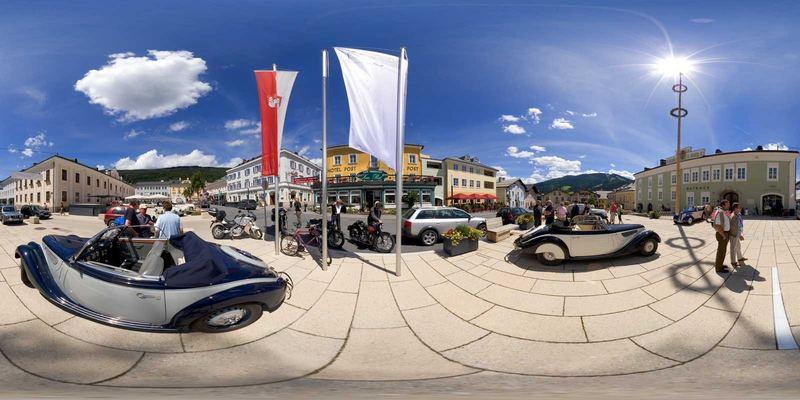 BMW Veteranen Treffen in Radstadt/Österreich am 13.07. 2007 - die zweite...