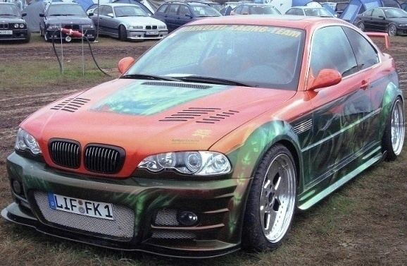 BMW vom BMW treffen auf dem Kindel