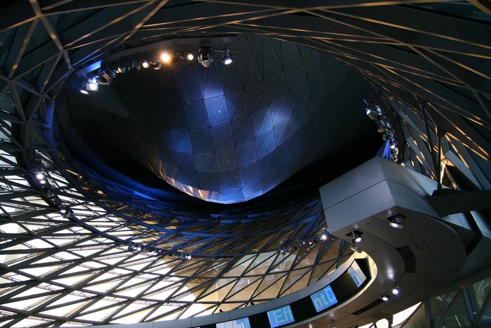 BMW Welt ... Präsentationshalle