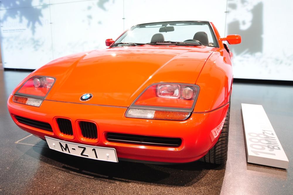 BMW Z1 im BMW Museum in München