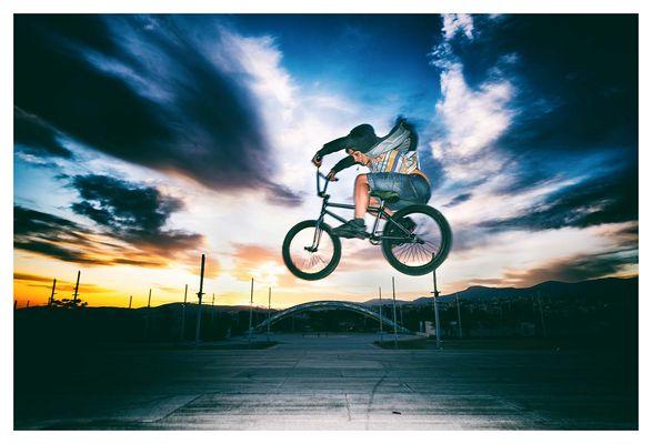 BMX Athens - Bunny Hopp
