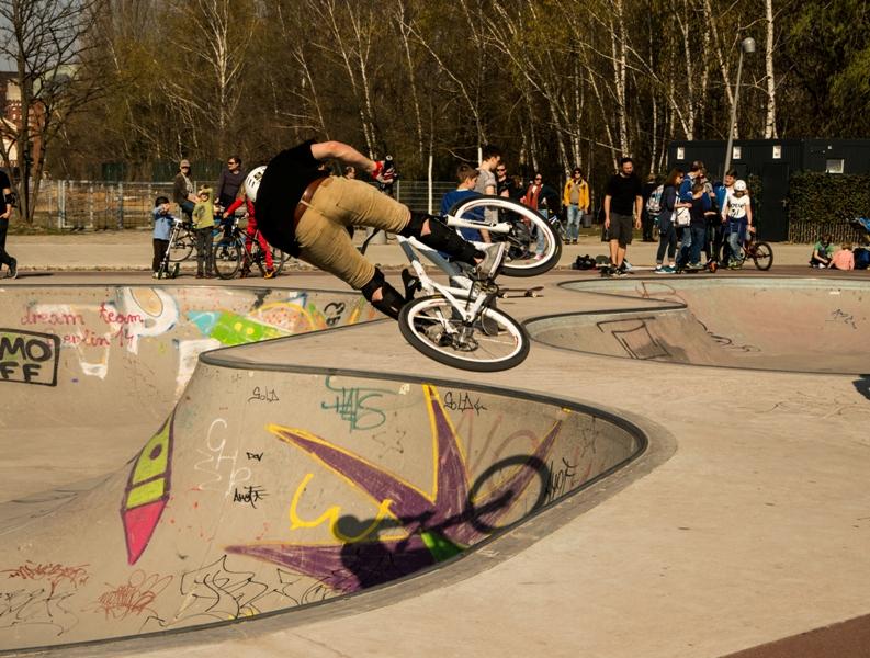 BMX Jugendsport extrem