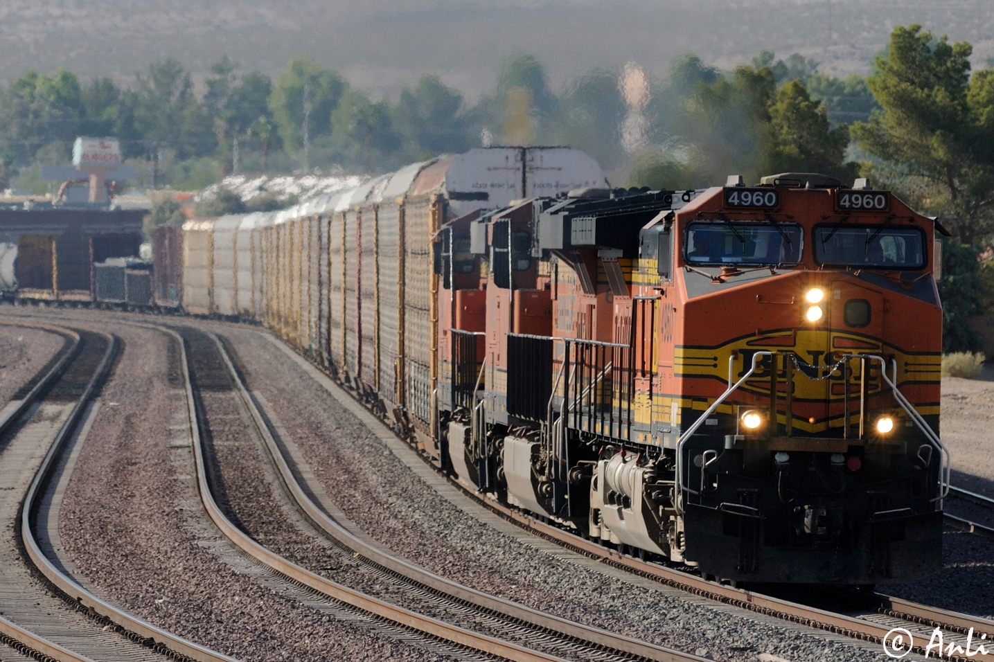 BNSF in Barstow