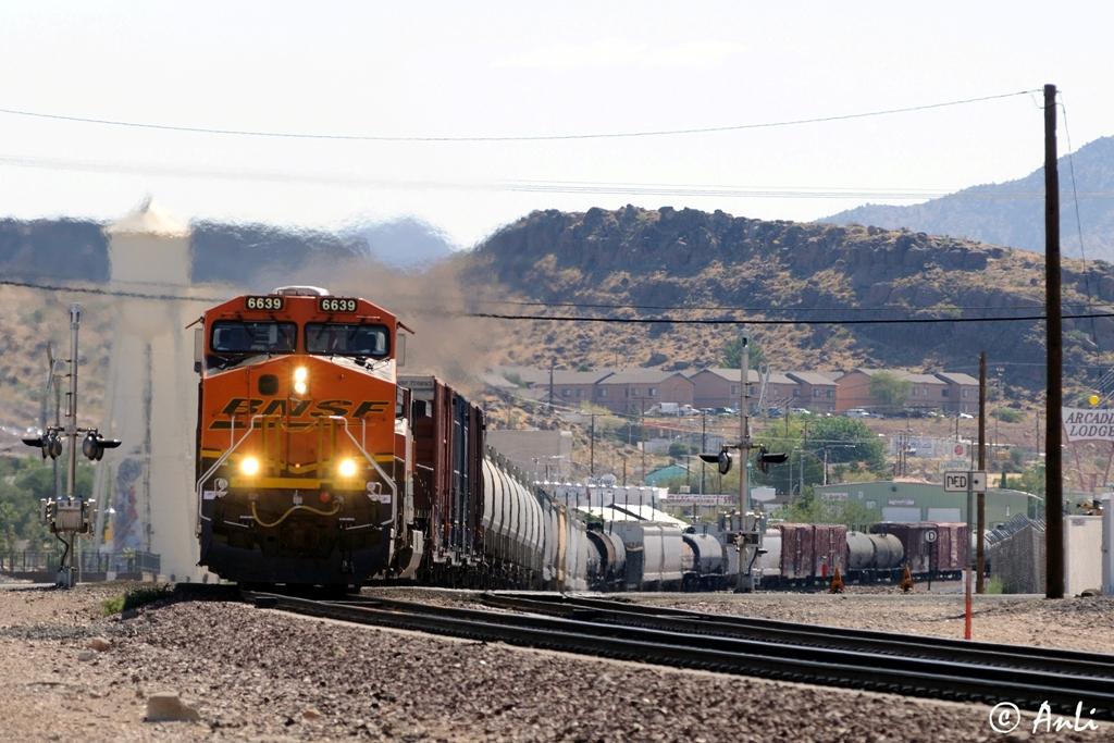 BNSF in Kingman/Arizona