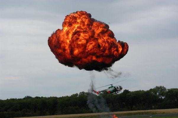 Bo 105 Einsatz