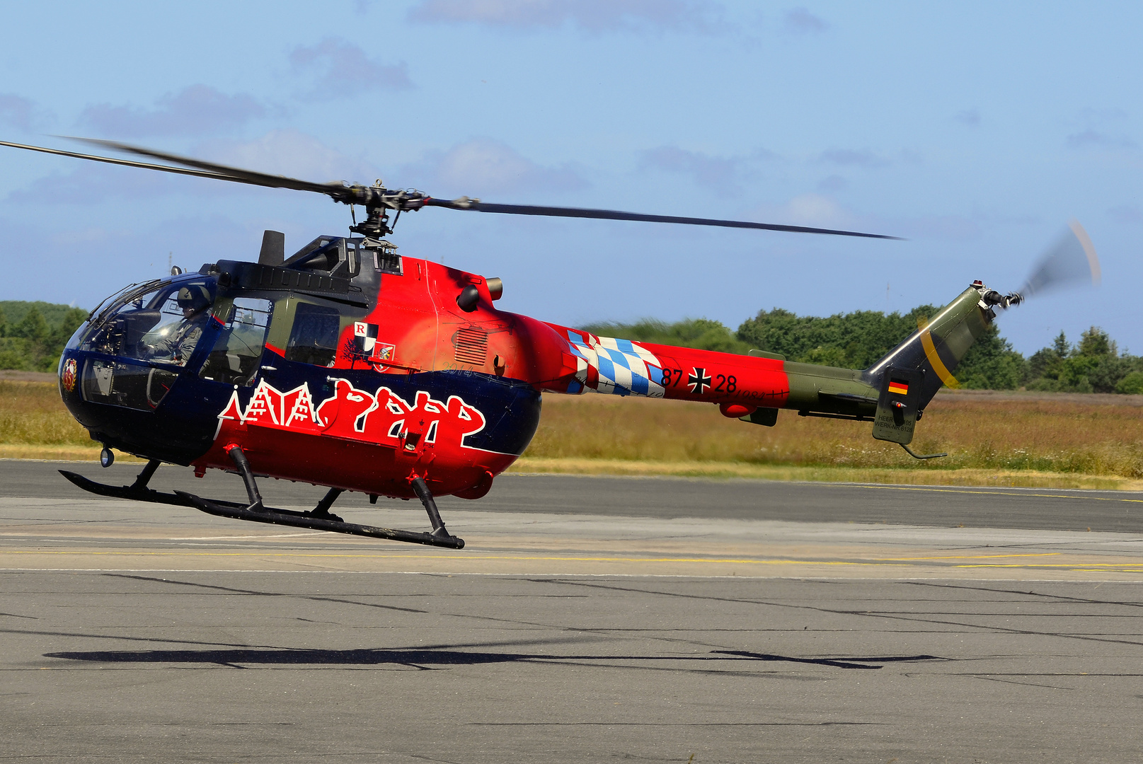 Bo-105, KHR-26, Fly Out Livery