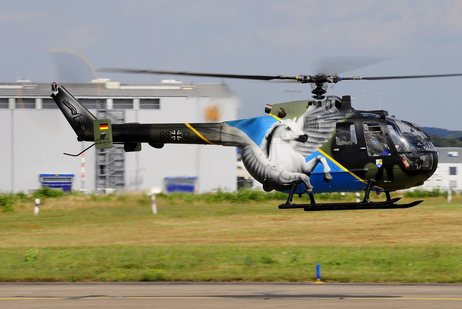 Bo-105, Pegasus Sonderlackierung