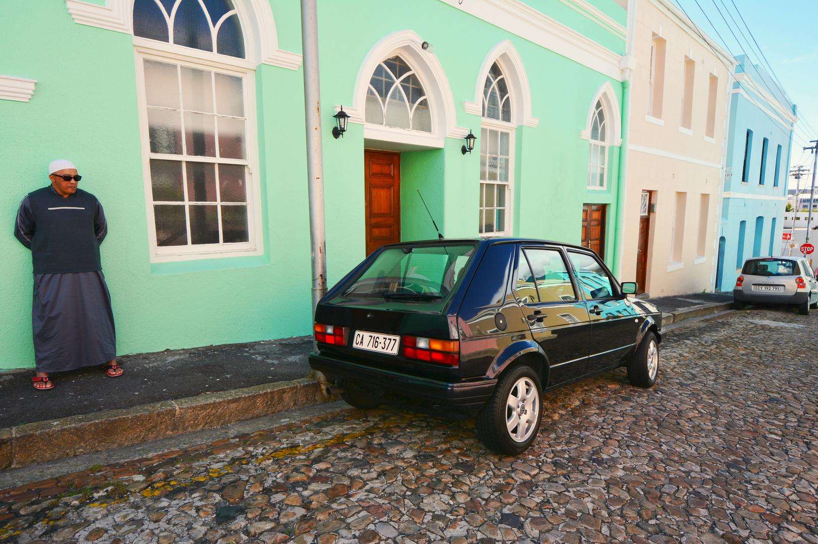 Bo Kaap mit VW Golf 1