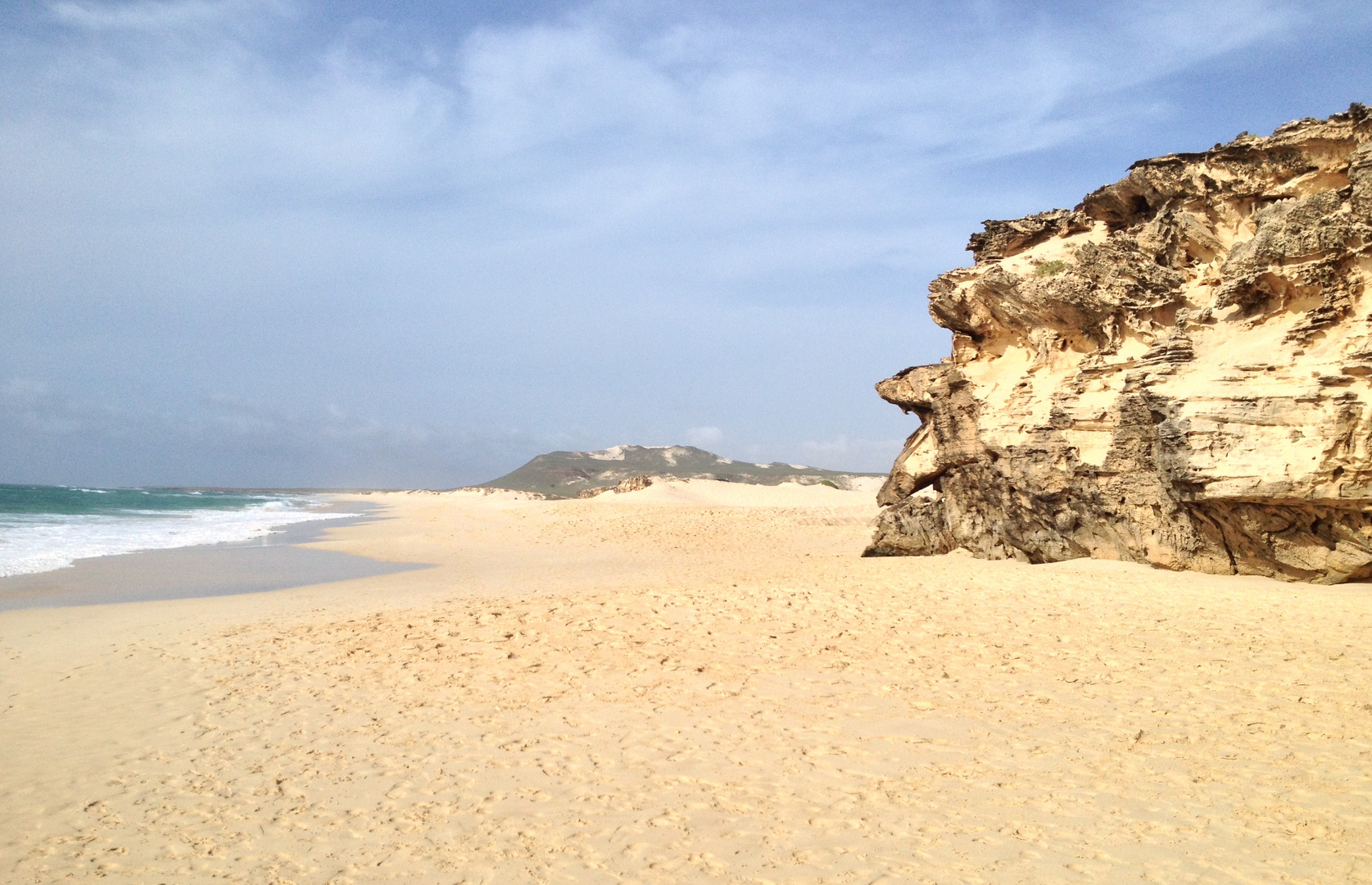 Boa Vista Einsamer Strand