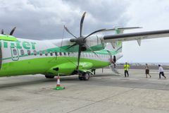 boarding Binter ATR-72