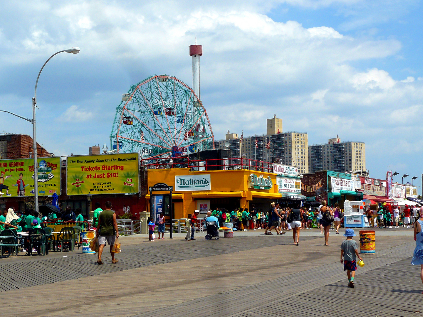 Boardwalk Coney Island NYC