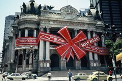 Boas Festas 1985 - wünscht das Stadttheater von Rio