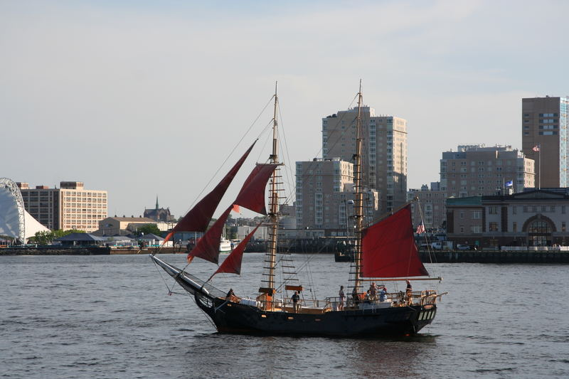Boat in Harbor