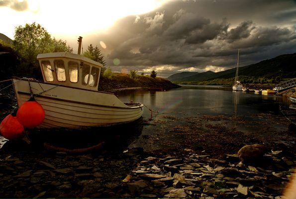 Boat near Gleancoe