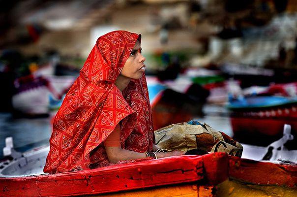 Boat on Ganga