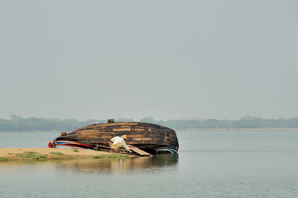 Boat repair