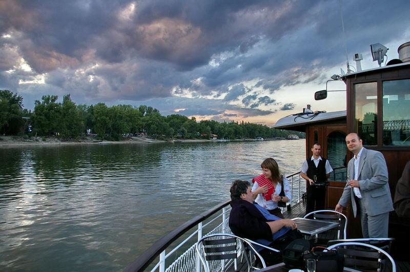 Boat trip on Danube