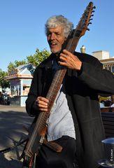 Bob Culbertson at San Franciso Fisherman's Wharf
