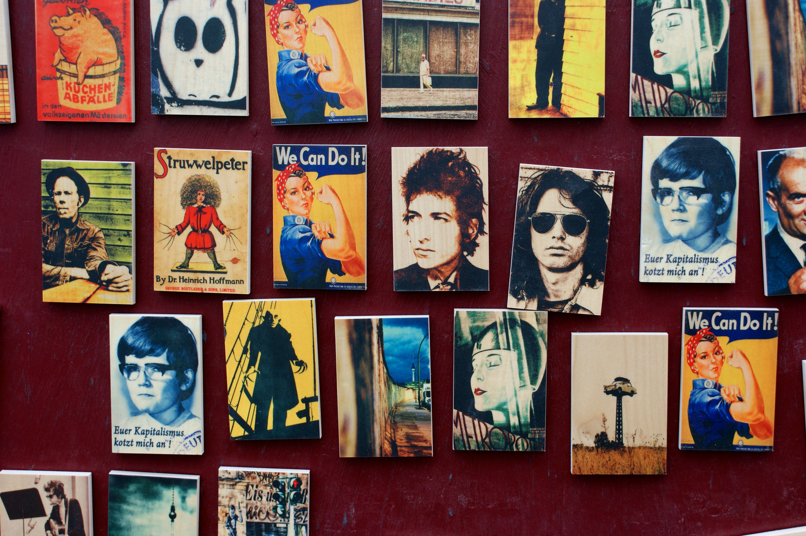 Bob Dylan, Jim Morrison and others
