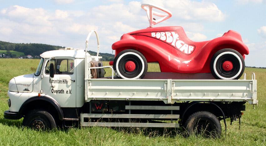 Bobby Car Rennen in Federath