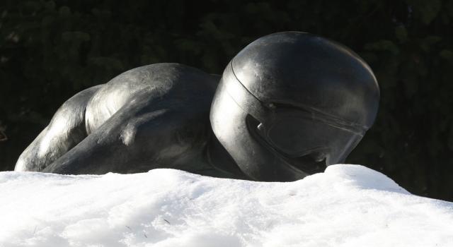Bobfahrer in St. Moritz