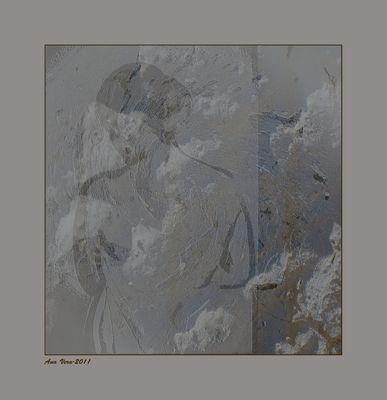 Boceto de escultor. (Estudios sobre Marta.1)