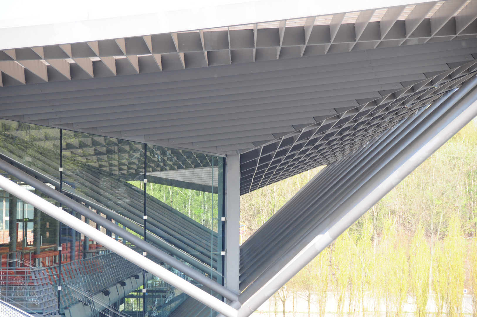 Bochum Jahrhunderthalle Stahl endlos