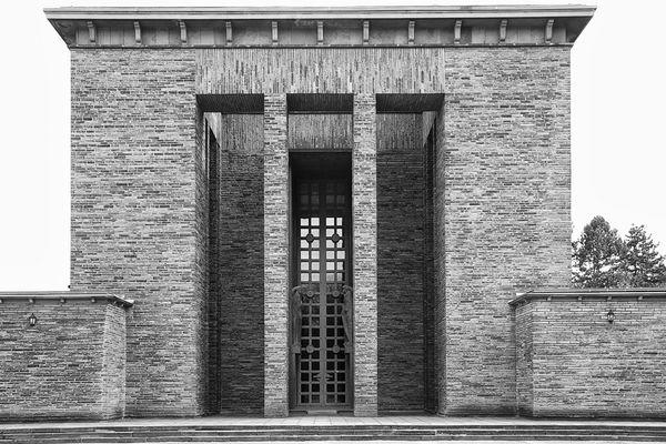 Bochum - Trauerhalle - Hauptfriedhof / Zentralfriedhof