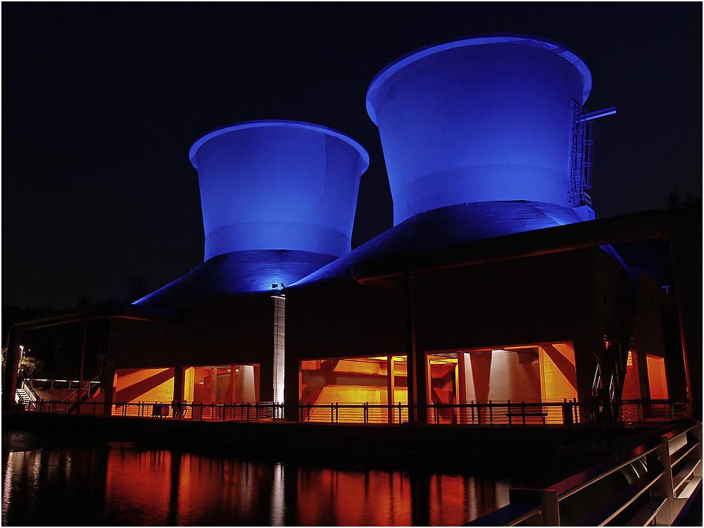 Bochum: Westpark bei Nacht