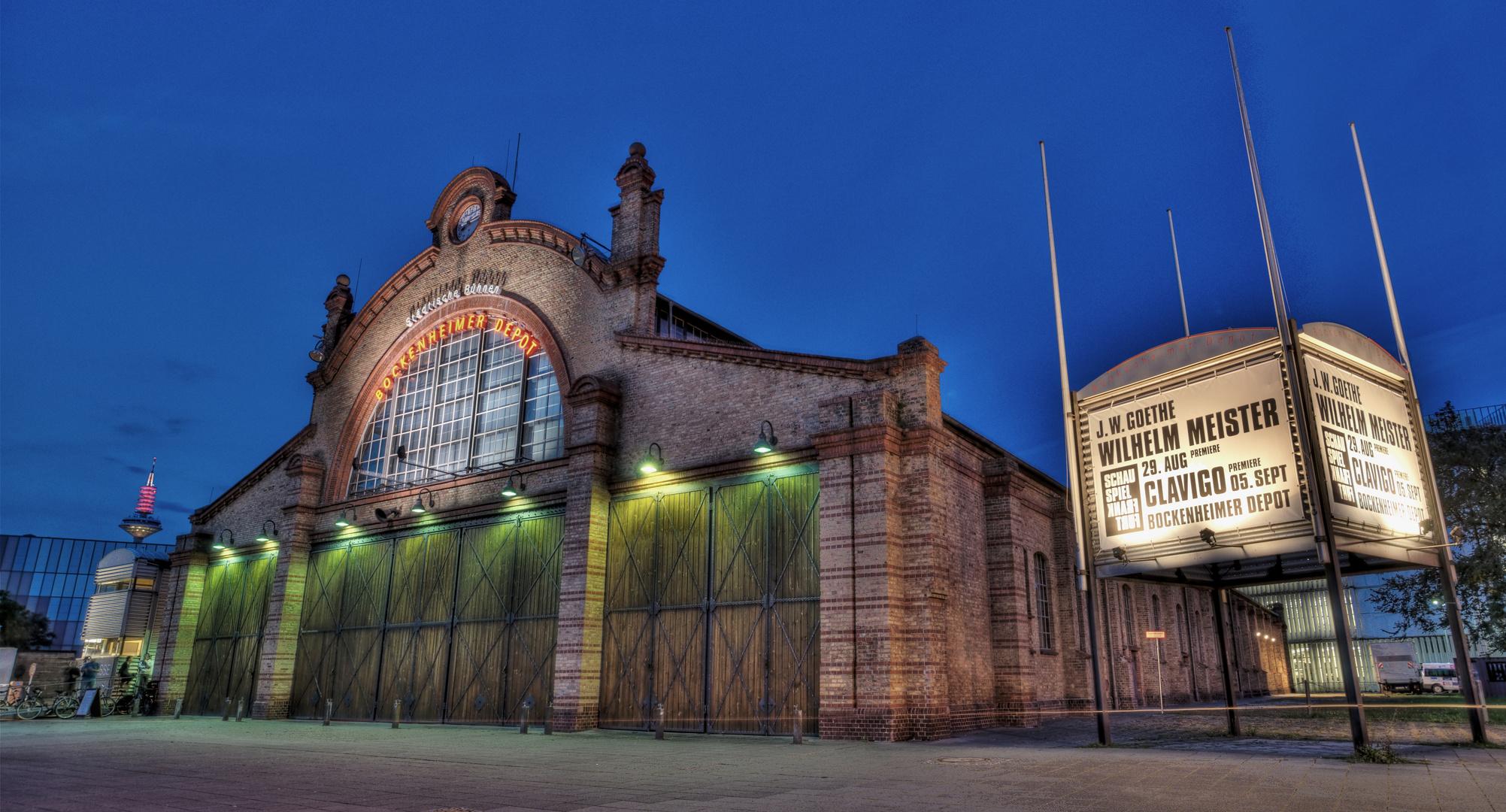 bockenheimer depot frankfurt am main foto bild