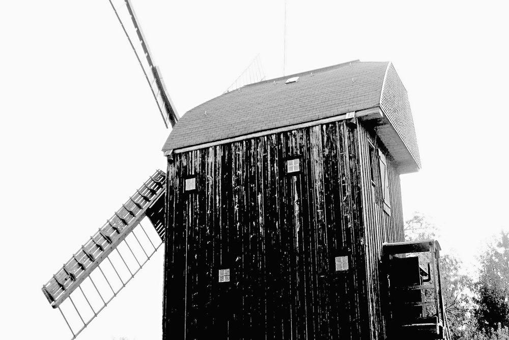 Bockwindmühle im Oderbruch // funktions- und arbeitsfähig