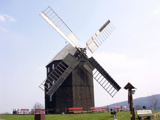 Bockwindmühle in Kottmarsdorf (Oberlausitz)