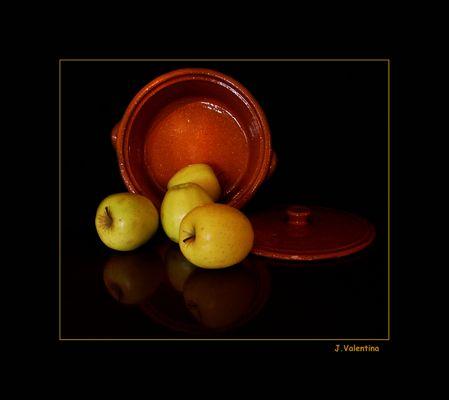 "Bodegón ""Manzanas II"""