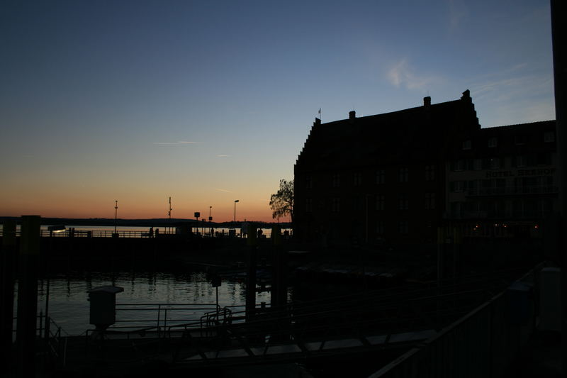 Bodensee abends