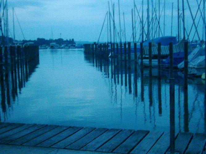 Bodensee am frühen Morgen im Juli