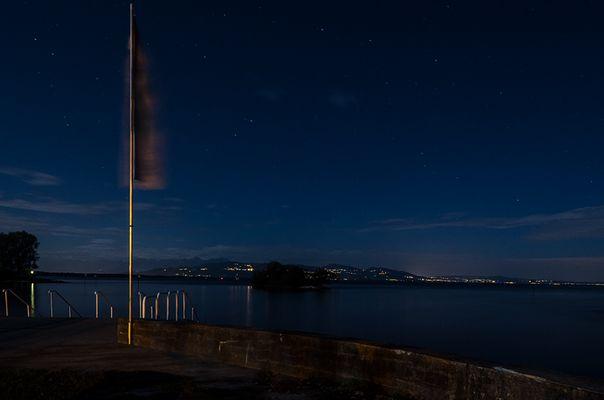 Bodensee bei Nacht