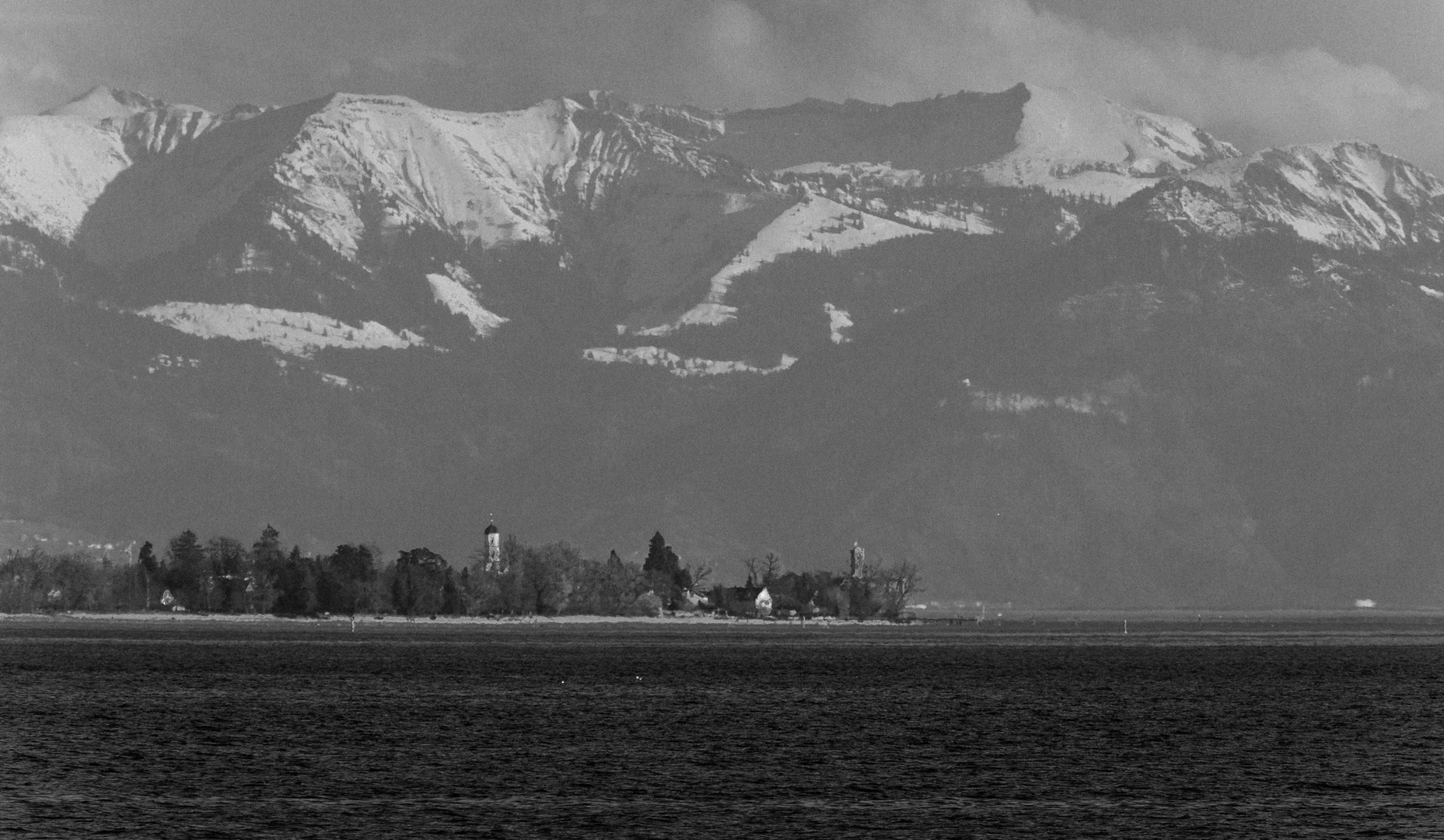 Bodensee in SW