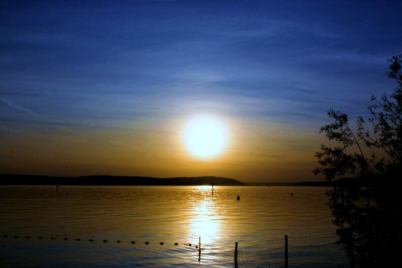 Bodensee, Sonnenuntergang