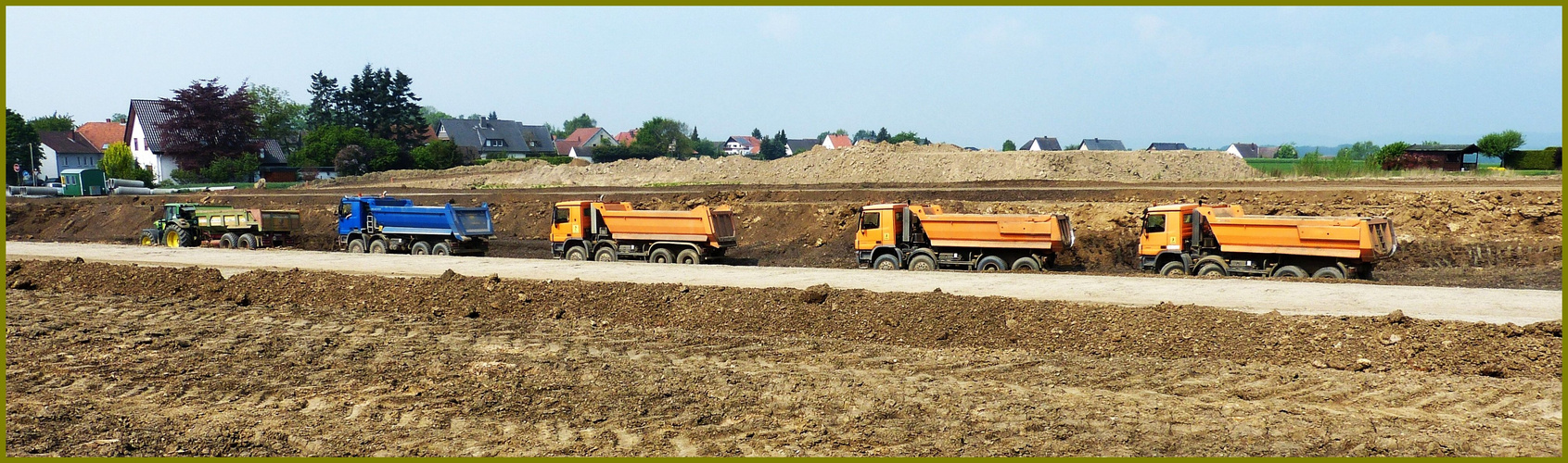 Bodentransporte für die Nordumgehung A 30 Bad Oeynhausen