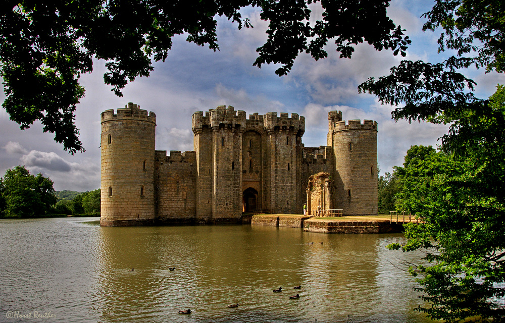 Bodiam Castle / England