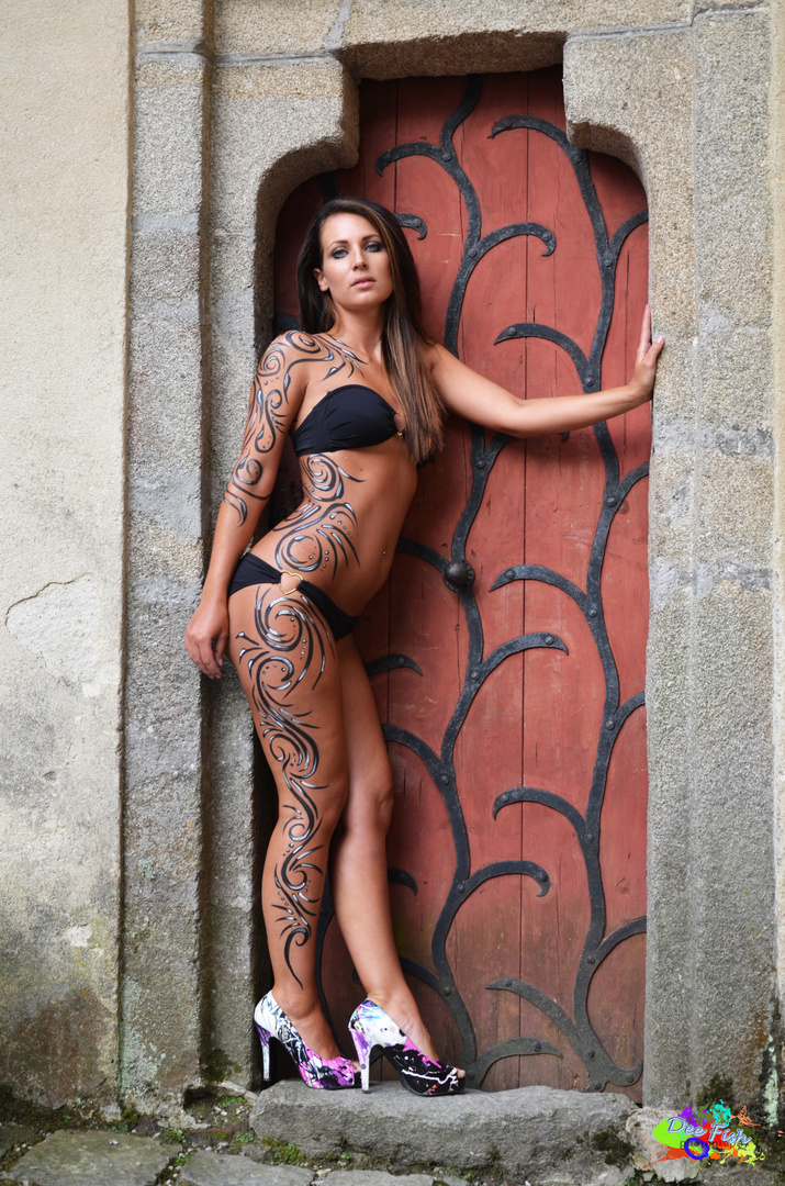 Bodypainting @ Clam Rock