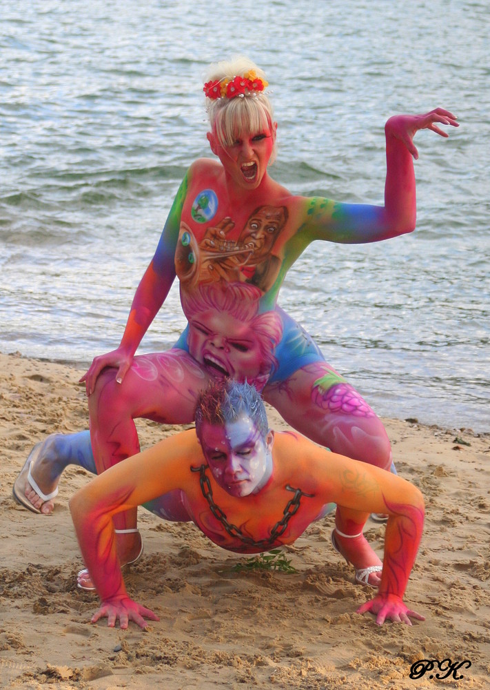 Bodypainting Seeboden 2009
